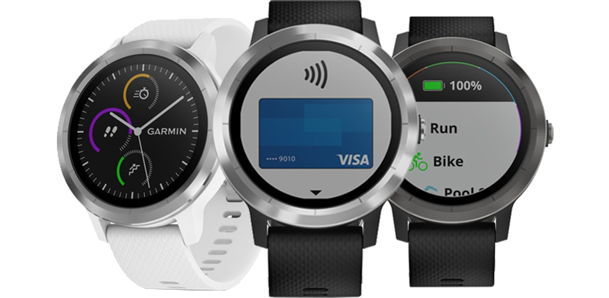 garmin v voactive 3 pay for things with your fitness watch facts chronicle. Black Bedroom Furniture Sets. Home Design Ideas